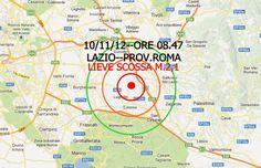 TERREMOTO ::: scossa di terremoto nella periferia orientale di ROMA  http://www.parisnews.it/leggiCronaca.php?id=384