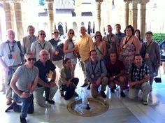 Agencias de viajes de Irlanda disfrutando de la Alhambra