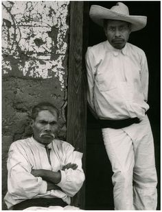 Paul Strand. Men of Santa Ana, Lake Patzcuaro Michoacan. 1933. © Paul Strand.