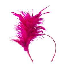 Fancy Feather Fascinator - Fuchsia OSFM SS/Hat http://www.amazon.com/dp/B00FYZ80JY/ref=cm_sw_r_pi_dp_wSfIub0TSHB91