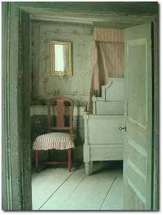 Swedish Gustavian Style Decorating Around The Color Green   Swedish Style