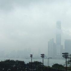 """@thestyleskinny's photo: """"Goodbye foggy, hazy #hongkong"""""""