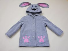 Hoodies – Bunny Ears Hoodie Coat. Boys and Girls. For boy' – a unique product by Loutik on DaWanda
