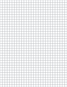 crochet graph for designing tapestry, filet and others