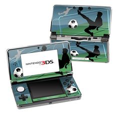 Nintendo 3DS Skin - Soccer Life by DecalGirl Collective