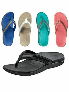 Flip-Flops that are actually good for your feet! | Solutions.com #Shoes #Sandals #FlipFlops