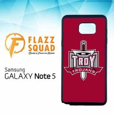 Troy Trojans Logo Z4178 Samsung Galaxy Note 5 Case