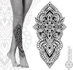 Available tattoo design! Vilnius , Lithuania at tattoo Geometric Mandala Tattoo, Geometry Tattoo, Mandala Tattoo Design, Half Sleeve Tattoos Forearm, Hand Tattoos, Mandalla Tattoo, Buddha Tattoo Design, Tattoos To Cover Scars, Leg Tattoos Women