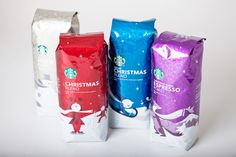 It's Christmas time at Starbucks - The Dieline -