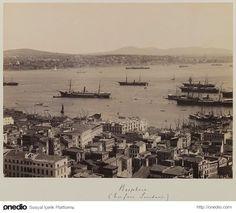 ✿ ❤ Bir Zamanlar İSTANBUL,  Üsküdar'a Bakış - 1890