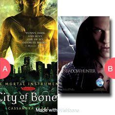 City OF Bones Or Shawdow Hunters? Tap to vote http://sms.wishbo.ne/U1ak/4AClamNyJt