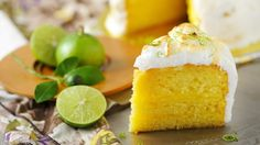 If you liked the pie version you'll love this sweet, creamy and zesty lemon meringue cake.