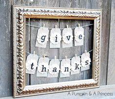 Pretty grateful! 5 charming Thanksgiving banners to DIY this season