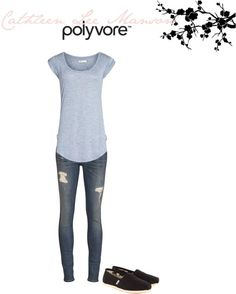 """""""What to wear - at school"""" by katiemanson on Polyvore"""