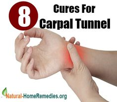 8 Natural Cures For Carpal Tunnel