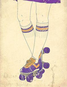 Roller Derby by infinityspiral, via Flickr