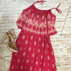 Perfect summer maxi dress Beautiful print embroidery detail en front light frantic. Run large but fits like Midium. Dresses Maxi