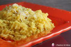 Risotto Porri e Curry http://blog.giallozafferano.it/pasticcidialice/risotto-porri-e-curry/