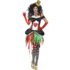 Deadly Heart Lady Kostüm