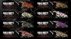 Black Ops 2 Weapon Skins