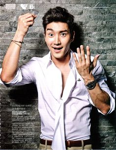 Super Junior Siwon - LEON Magazine June Issue '13
