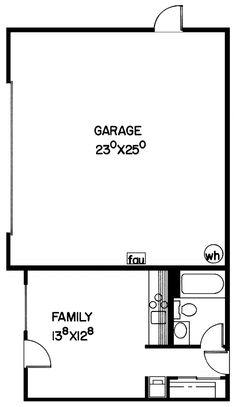 The Smallest Two-Car Cabin EVER! - plan #085D-0065 | houseplansandmore.com
