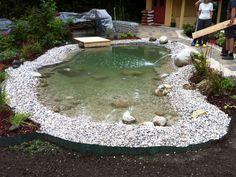 Der Neue Teich - Bilder Und Fotos | Gartenteich Ideen | Pinterest Teich Im Garten Anlegen Und Pflegen Nutzliche Tipps Fur Hobby Gartner