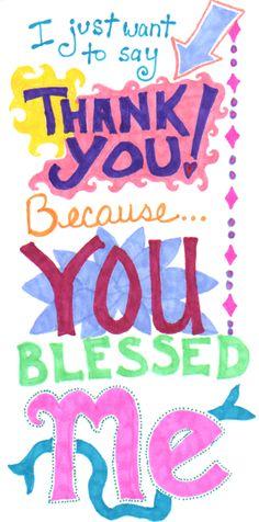 Showing appreciation :)