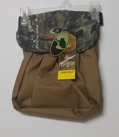 Mossy Oak Break-Up Country Dove Belt Bags Durable Canvas Light Weight Nylon Belt #MossyOak