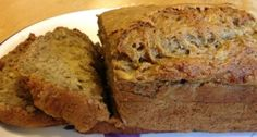 Healthy Banana Bread with Applesauce Recipe- substituted half the flour with whole wheat flour.