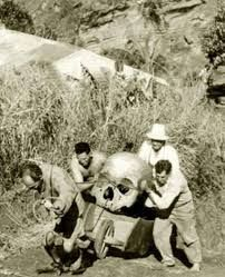 Image result for Giant Human Skeleton Unearthed in America