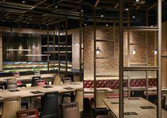 Nichigyu Japanese Hot Pot restaurant by STUDIO C8, Hong Kong » Retail Design Blog