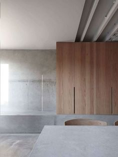 COS | Spaces | Ingersoll Road House Colour Palette for Wood + Concrete