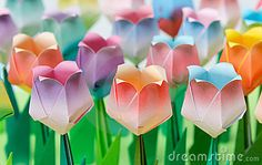 paper tulips - Google Search