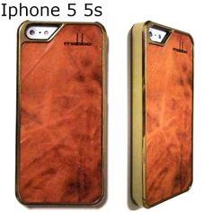 mabba ( マッバ ) ドイツ の 起伏 レザー iphoneケース iPhone 5 5S Case leder Karamello braun gold 本革 ブラウン ゴールド アイフォン ファイブ カバー iPhone5s iPhone5 保護シート セット ハンドメイド 職人技 本格 こだわり革 高級感 iiphone5 セール 海外 ブランド