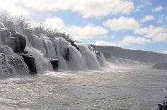 Recreo invernal: Impresionantes Saltos de Mocona, Misiones, Argentina