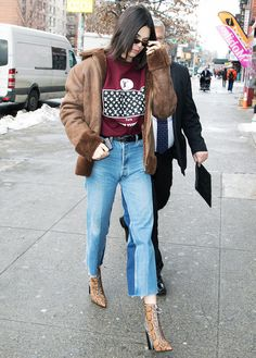 Kendall Jenner Is Ditching Skinny Jeans for These Instead | WhoWhatWear