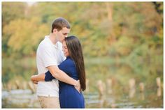 Pittsburgh Engagement Session North Park | Kelly Adrienne Photography