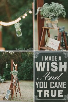 I made a wish and You came true.... awwwwwww