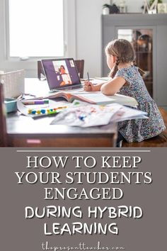 Keeping your students engaged while hybrid learning can be overwhelming. You need these 3 student engagement strategies for hybrid learning. These student engagement ideas are easy and quick to use and are perfect for tired and burned out primary teachers. Click now to download the free student engagement guide inside. @thepresentteacherr Engagement Ideas, Student Engagement, Teaching Tips, Tired, Students, Teacher, Librarians, Activities, How To Plan