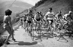 Retro Tour de France shot