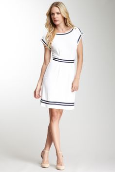Philosophy by Alberta Ferretti Sailor Dress