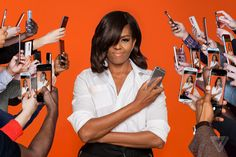 A series of portraits of the First Lady of the United States Michelle Obama shot exclusively for The Verge