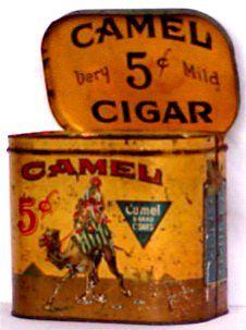 Camel 5 Cent Cigars.