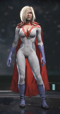 Power Girl in Injustice 2 (Store Render) Alternate Look Power Girl makes an appearance as a support card in the mobile version of Injustice: Gods Among Us. Power Girl Gold Might Class Happy Labor Day! Marvel Girls, Comics Girls, Marvel Dc, Cosplay Outfits, Cosplay Girls, Cosplay Costumes, Power Girl Cosplay, Hee Man, Mädchen In Uniform
