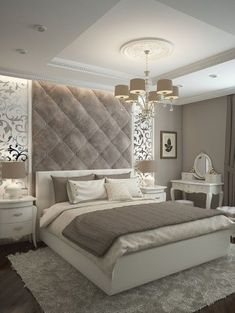21 Modern and Stylish Bedroom Designs 21 Modern and Stylish Bedroom Designs,Schlafzimmer Ideen Discover master bedroom design ideas, curated by Boca do Lobo to Explore a selection of master bedroom design ideas, curated by. Luxury Bedroom Design, Master Bedroom Design, Home Decor Bedroom, Home Interior Design, Master Bedrooms, Bedroom Designs, Bedroom Wall, Bedroom Lamps, Wall Lamps