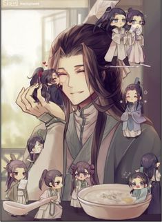 Anime Amor, Anime Lindo, Anime Chibi, Manga Anime, Manhwa, Chinese Cartoon, Anime Poses, The Grandmaster, Handsome Anime
