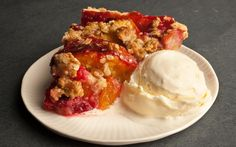 Peach Melba Pie Recipe - Chowhound