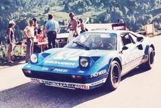 Amjayes • Rallying in a Ferrari 308 GTB - so 1980s.
