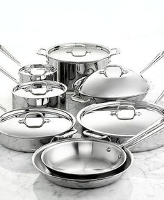 For the kitchen #All-Clad #Cookware #stainlesssteel #macys BUY NOW!